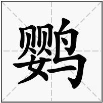 《鹦》-康熙字典在线查询结果 康熙字典