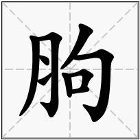 《胊》-康熙字典在线查询结果 康熙字典