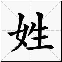 《姓》-康熙字典在线查询结果 康熙字典